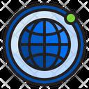 Internet Notification Icon