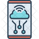 Internet Of Things Product Process Icon