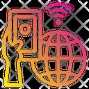 Global International Smartphone Icon