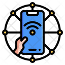 Internet Of Things Internet App Icon