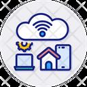 Internet Of Things Cloud Computing Icon