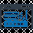 Internet Password Icon