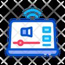 Internet Laptop Media Icon