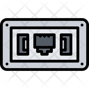 Internet Usb Socket Icon