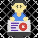 Internet Problem Work Data Icon
