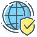 Secure Web Security Network Icon