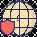 Internet Protection Icon