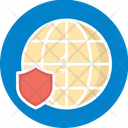 Internet Protection Network Protection Network Security Icon