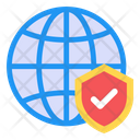 Secure Internet Internet Protection Secure Browsing Icon
