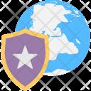 Shield Star Favourite Icon
