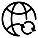 Sync Internet Network Icon