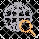 Internet Search Icon