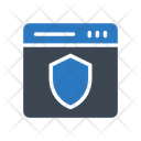 Internet Security Webpage Icon