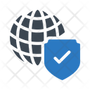 World Shield Security Icon