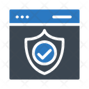 Security Protection Webpage Icon