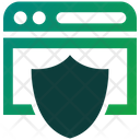 Internet Security Web Security Protection Icon