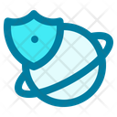 Internet Security Protect Secure Icon