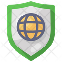Internet Security Global Security Network Security Icon