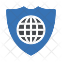Internet Global Security Icon
