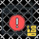 Internet server error Icon