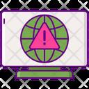 Internet Server Error Server Error Server Risk Icon