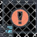 Minternet Server Error Icon