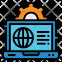 Internet Laptop Computer Icon