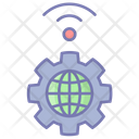 Internet Global Settings Icon