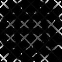 Internet Network Share Icon