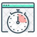 Response Time Stopwatch Website Icon