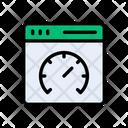Performance Internet Speed Icon