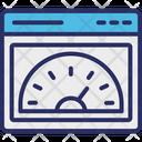 Internet Speed Speed Test Web Analyzer Icon