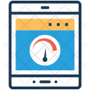 Internet Speed Speedometer Icon