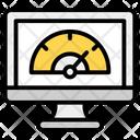Internet Speed Test Speed Optimization Web Speed Test Icon