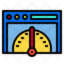 Bandwith Internet Digital Icon