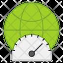 Internet Speed Test Speedometer Speed Measure Icon