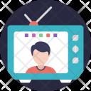 Internet Television Icon