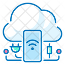 Internet Things Cloud Mobile Phone Icon