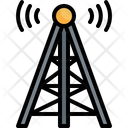 Internet Tower Booster Connection Icon
