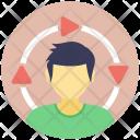 Internet User Avatar Icon