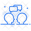 Interpersonal Communication Conversation Discussion Icon