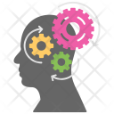 Creative Thinking Brain Icon