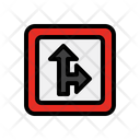 Arrow Traffic Navigation Icon