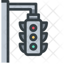 Intersection Traffic Light Traffic Signal Icon