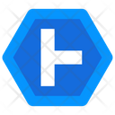 Intersection Road Arrow Direction Arrow Icon