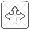 Intersection Arrows Icon