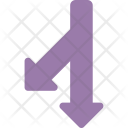 Interaction Curved Ahead Icon