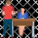 Interview Recruitment Employee Selection Icon