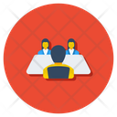Interview Discussion Communication Icon
