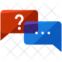 Interview Question Chatting Icon